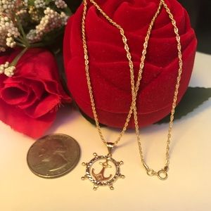 Jewelry - 18K Real Gold Necklace